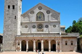Spoleto Cathedral (cathedral Of Santa Maria Assunta)