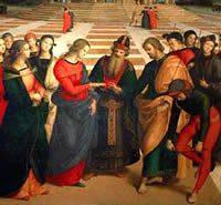 Lo Sposalizio della Vergine - Raffaello