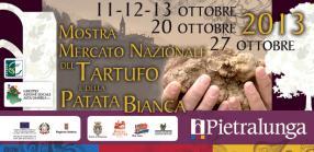 Mostra Mercato Nazionale Del Tartufo E Della Patata Bianca, 2013