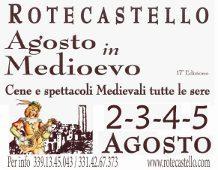 Agosto In Medioevo 2012, 17a Edizione