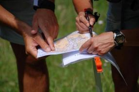 Weekend con orienteering