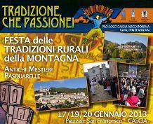Tradizione, Che Passione! 2013, 5a Edizione