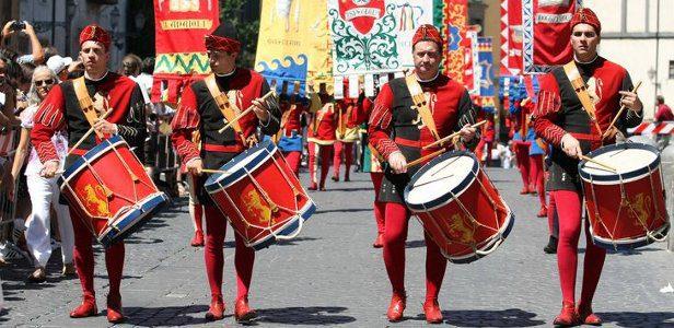 Corteo Corpus Domini Orvieto