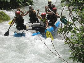 Rafting a Norcia