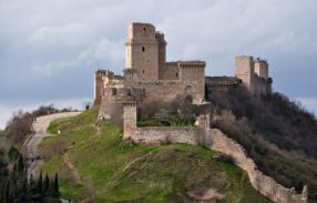 The Rocca Maggiore Fortress
