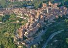 Città delle Pieve - dall'alto