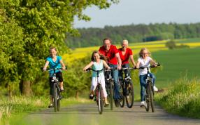 Family Bike Tours In Umbria