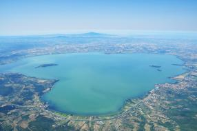 Veduta del Lago Trasimeno