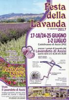 Festa Della Lavanda Di Assisi 2017