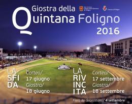 Giostra Della Quintana 2016 - La Sfida