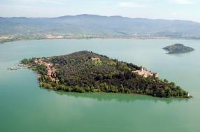 Lago Trasimeno_Isola Maggiore_dall alto