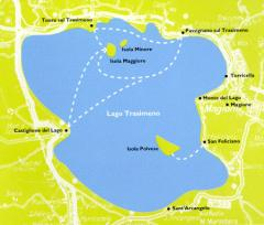 Trasimeno, Times And Prices Of The Boats For The Islands