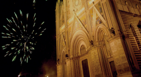 New Year's Eve In Orvieto