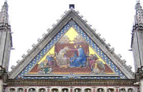 Mosaics Of The Orvieto Cathedral