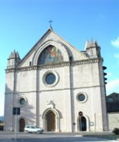 Sanctuary Of Rivotorto In Assisi