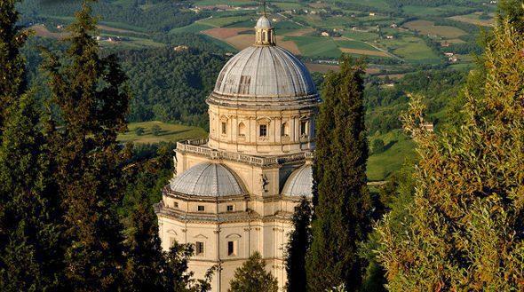 Todi, Tempel van de Troost