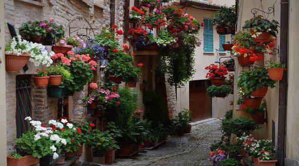 Spello, Umbrië